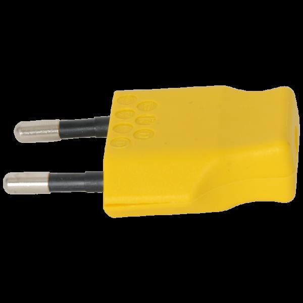 Stecker T26 2-polig gelb