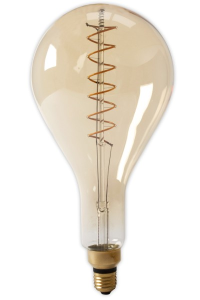 LED Flex Filament Splash Lamp Gold 4W E27