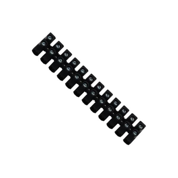 Lüsterklemme 2.5-4mm2 schwarz