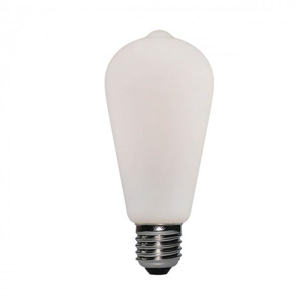 LED Porzellan ST64 6W E27 | Daylight Italia
