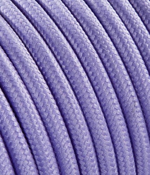 Textilkabel lila TO54, 3 x 0,75mm²