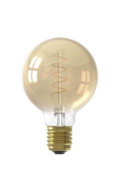 LED Flex Filament G80 Lamp Gold 4W E27 | Calex