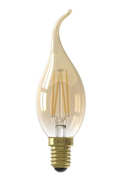 Kerzenlampe gold E14 Konigs