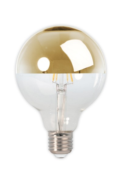 LED Filament Top Mirror G95 Gold 40W E27