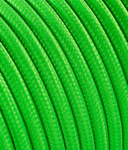 Textilkabel neon-grün TO67