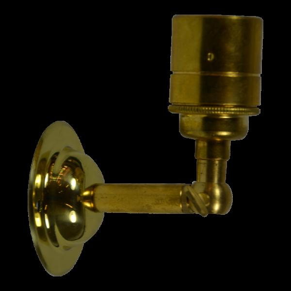 Wandleuchte Brass ohne Stellring