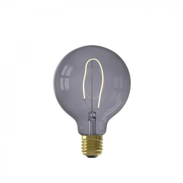 LED Nora Topaz Grey G95 4W E27 | Calex