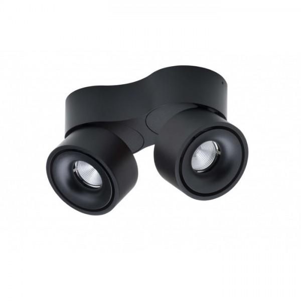 LED-Spot Easy Double schwarz