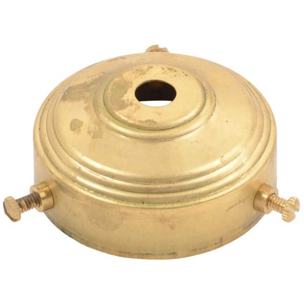 Glas- und Lampenschirmhalter Brass