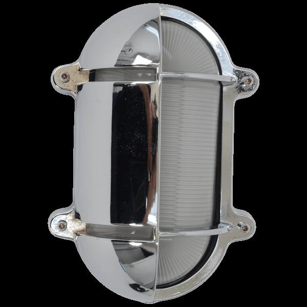 Wandlampe Oval Chrom 245x172   Foresti & Suardi