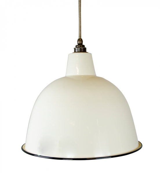 Emaille XL Dome - Panna