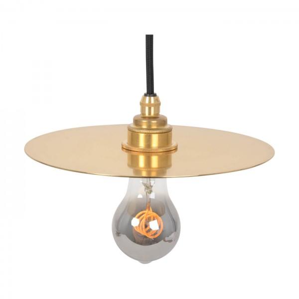 Lampenschirm Disc Brass