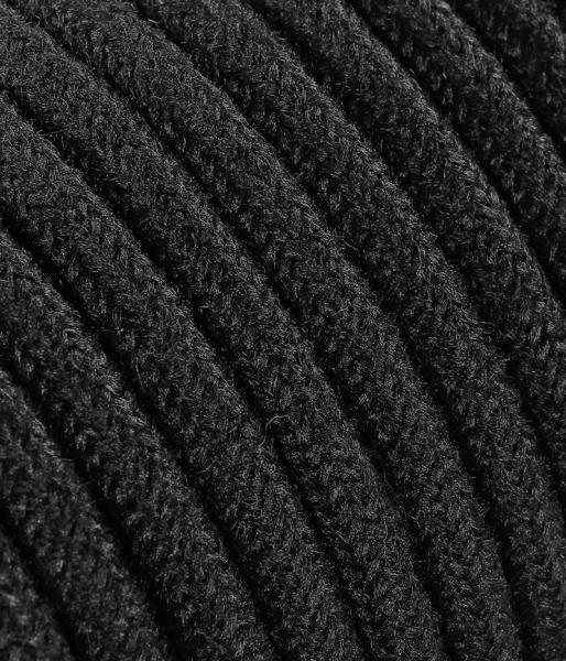 Textilkabel Jeans schwarz matt TO414, 2 x 0,75mm²