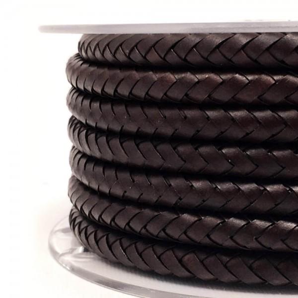 Kabel aus Leder braun