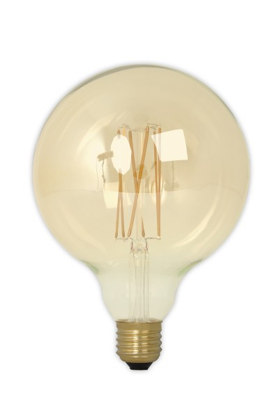 LED Filament G125 Gold Lamp 4W E27