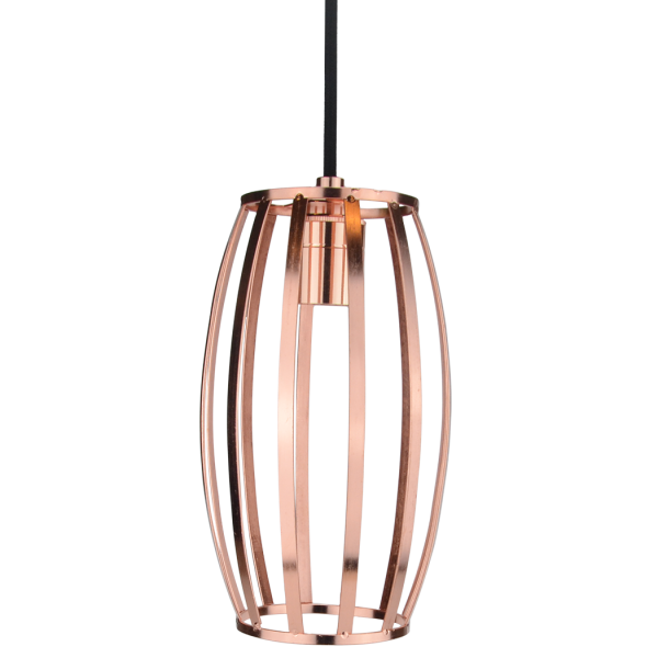 Geometric Cage Barrel Kupfer