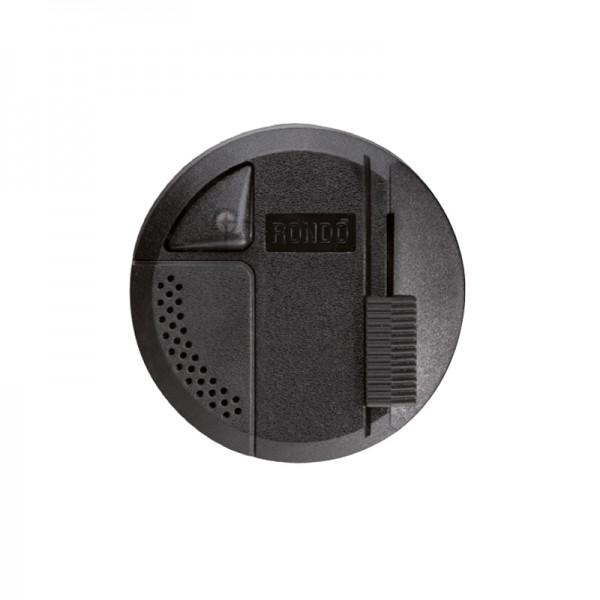 Bodendimmer Rondo LED schwarz Konigs