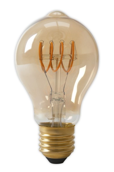 LED Full Glass Flex Filament A60 Gold 4W E27 | Calex