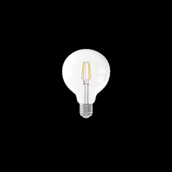 LED Filament G95 Globe Lamp 6W E27 klar